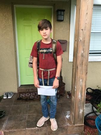 Noah 9th grade